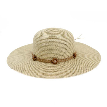 Plain colour straw hat custom retro lifeguard hat